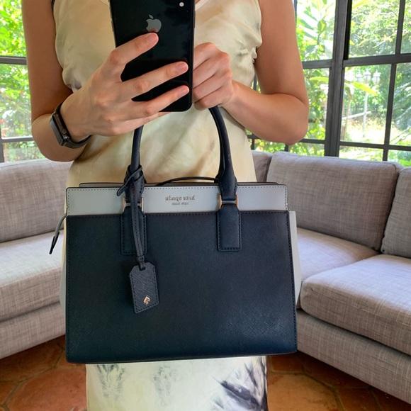 kate spade Handbags - MEDIUM SATCHEL NCHTCP KATE SPADE CAMERON LEATHER